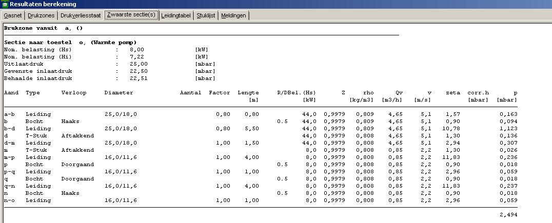 Extreem Gasleiding - modelleren en berekenen gasleidingnet voor woningen EQ06
