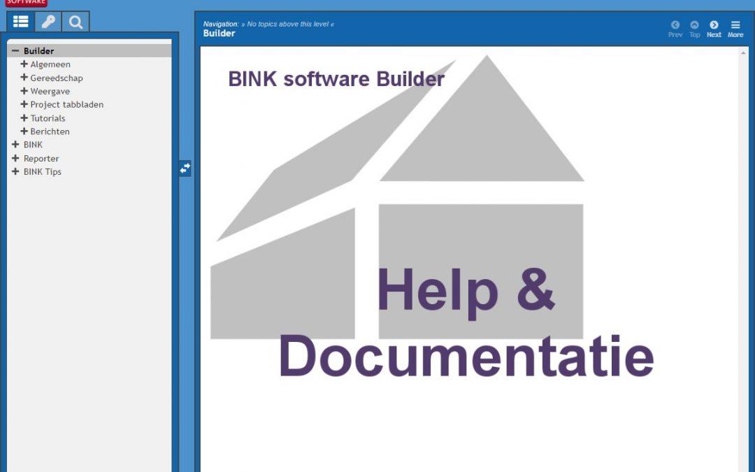 Helpfunctie BINK 9 aangepast