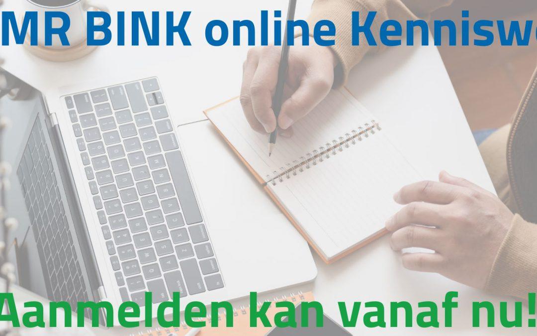 Aanmelden voor 'DGMR BINK kennisweek' kan vanaf nu!