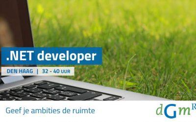 Vacature ervaren .NET developer